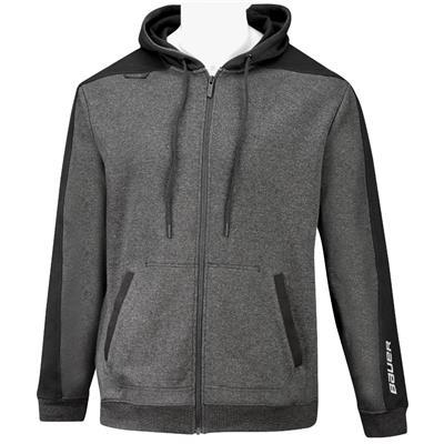 (Bauer Premium Fleece Full Zip Hoody - Youth)