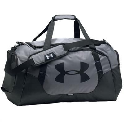 Graphite/Black/Black (Under Armour Undeniable Hockey Duffle 3.0 Medium)