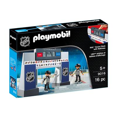 NHL Score Clock w/ Referees (Playmobil NHL Score Clock With Two Referees)
