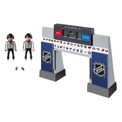 Front (Playmobil NHL Score Clock With Two Referees)