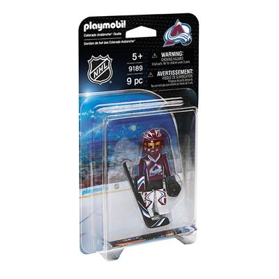 Colorado Avalanche Playmobil Goalie Figure (Playmobil Colorado Avalanche Goalie Figure)