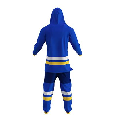 St. Louis Blues Onesie (Hockey Sockey St. Louis Blues Onesie - Adult)