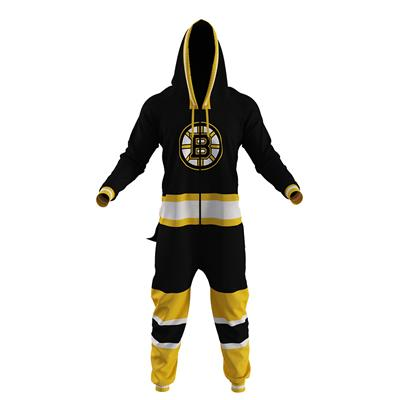 Boston Bruins Onesie (Hockey Sockey Boston Bruins Onesie - Adult)