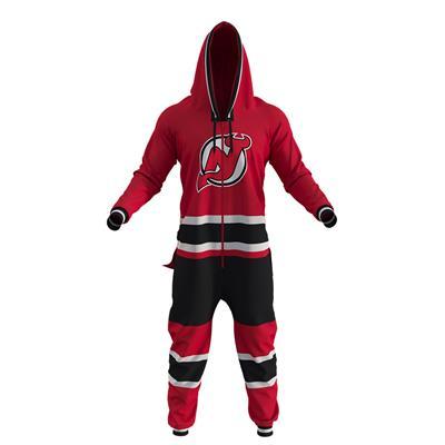New Jersey Devils Onesie (Hockey Sockey New Jersey Devils Onesie - Adult)