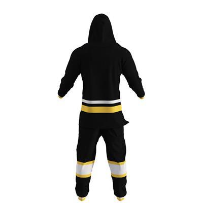 Pittsburgh Penguins Onesie (Hockey Sockey Pittsburgh Penguins Onesie - Adult)