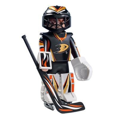 Anaheim Ducks Playmobil Goalie Figure (Playmobil Anaheim Ducks Goalie Figure)