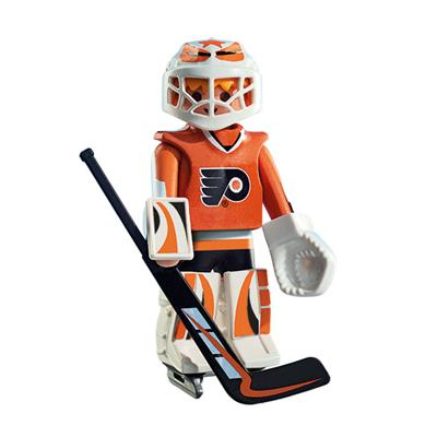 Philadelphia Flyers Playmobil Goalie Figure (Playmobil Philadelphia Flyers Goalie Figure)