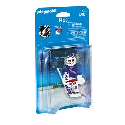New York Rangers Playmobil Goalie Figure (Playmobil New York Rangers Goalie Figure)