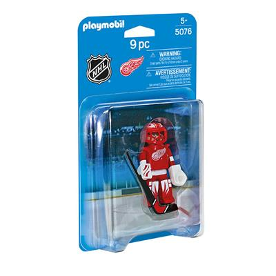 Detroit Red Wings Playmobil Goalie Figure (Playmobil Detroit Red Wings Goalie Figure)