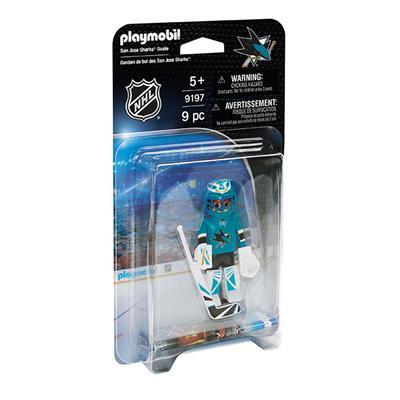 San Jose Sharks Playmobil Goalie Figure (Playmobil San Jose Sharks Goalie Figure)