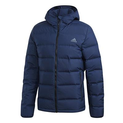 (Adidas Outdoor Helionic Hooded Jacket - Navy - Mens)