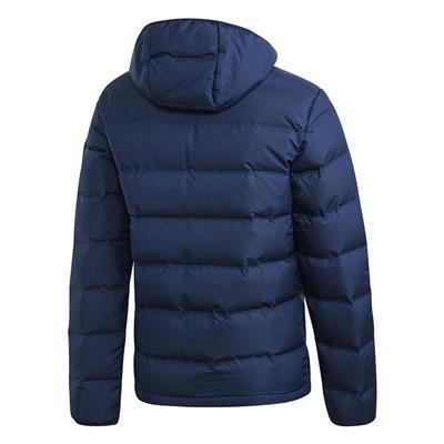 (Adidas Outdoor Helionic Hooded Jacket - Navy - Mens)