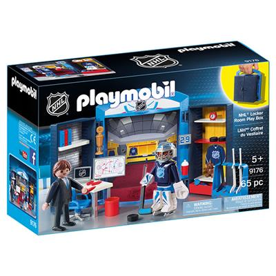 Locker Room Play Box (Playmobil NHL Locker Room Set)