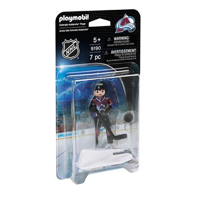 Colorado Avalanche Playmobil Player Figure (Playmobil Colorado Avalanche Player Figure)