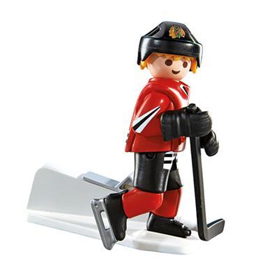 Chicago Blackhawks Playmobil Player Figure (Playmobil Chicago Blackhawks Player Figure)