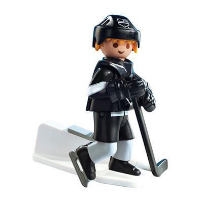Los Angeles Kings Playmobil Player Figure (Playmobil Los Angeles Kings Player Figure)