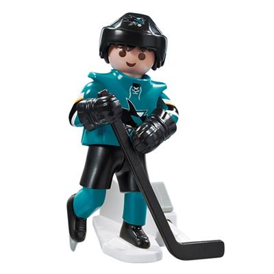 San Jose Sharks Playmobil Player Figure (Playmobil San Jose Sharks Player Figure)