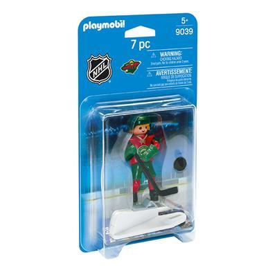 Minnesota Wild Playmobil Player Figure (Playmobil Minnesota Wild Player Figure)