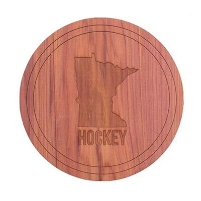 (Minnesota Hockey Coaster Set)