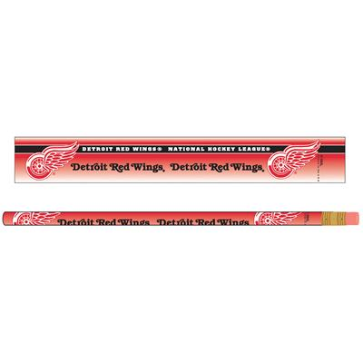 Pencils 6-Pack Red Wings (Wincraft Detroit Red Wings Pencils - 6 Pack)