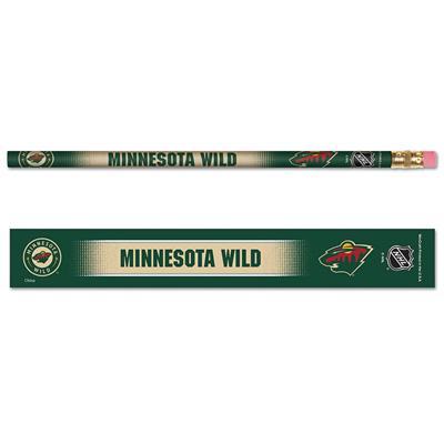 Pencils 6-Pack Wild (Wincraft Minnesota Wild Pencils - 6 Pack)
