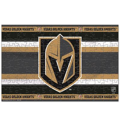 NHL 150PC Puzzle Knights (Wincraft NHL 150 Piece Puzzle - Las Vegas Golden Knights)