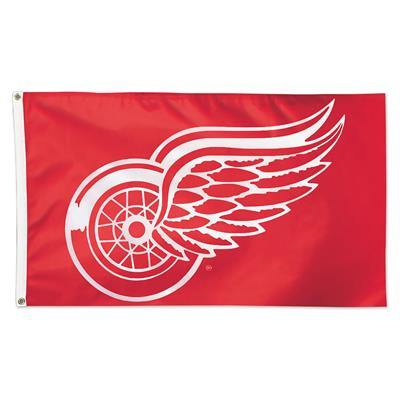 NHL 3x5 Flag Red Wings (Wincraft NHL 3' x 5' Flag - Detroit Red Wings)