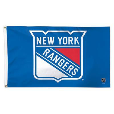 NHL 3x5 Flag Rangers (Wincraft NHL 3' x 5' Flag - New York Rangers)