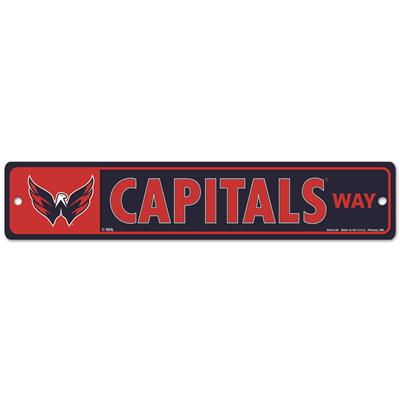 NHL Street Sign Capitals (Wincraft Washington Capitals Street Sign)