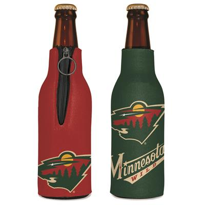 Zipper BTL Cooler Wild (Wincraft Zipper Bottle Cooler - Minnesota Wild)