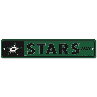 NHL Street Sign Stars (Wincraft Dallas Stars Street Sign)
