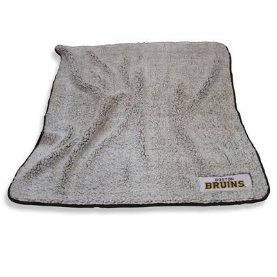 Frosty Blanket Bruins (Boston Bruins Frosty Fleece Blanket)