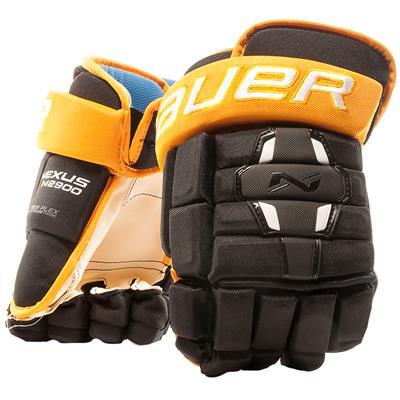 Black/Gold (Bauer Nexus N2900 Hockey Gloves - Senior)