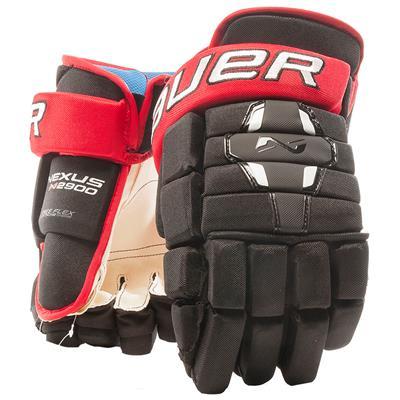 Black/Red (Bauer Nexus N2900 Hockey Gloves - Junior)