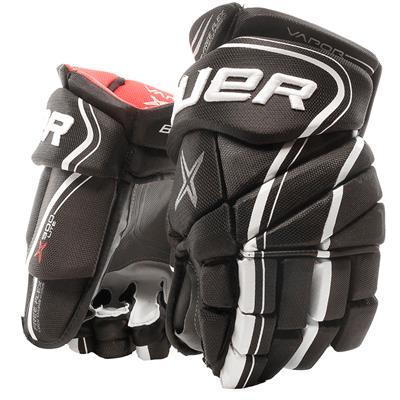 Black/White (Bauer Vapor X900 Lite Hockey Gloves)