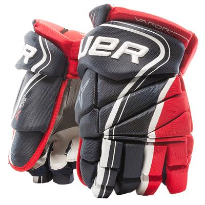 Navy/Red/White (Bauer Vapor X900 Lite Hockey Gloves)
