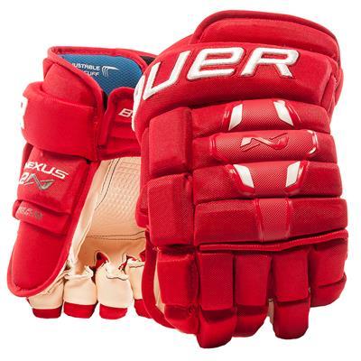 50dba72108f Red (Bauer Nexus 2N Hockey Gloves - Senior)