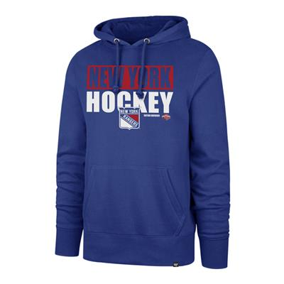 (47 Brand Blockout Headline Hoody - New York Rangers - Mens)