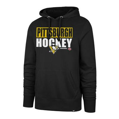 (47 Brand Blockout Headline Hoody - Pittsburgh Penguins - Mens)