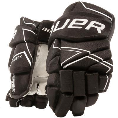 Black (Bauer NSX Hockey Gloves - Junior)