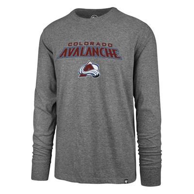 (47 Brand Pregame Super Rival Long Sleeve Tee - Colorado Avalanche - Mens)