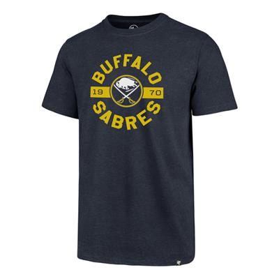 (47 Brand Roundabout Club Tee - Buffalo Sabres - Mens)