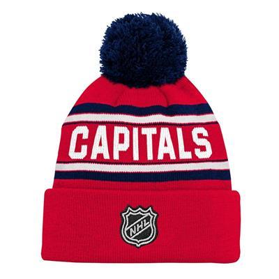 0327339cedd ... clearance back adidas washington capitals youth pom knit hat e211e 6d3fc