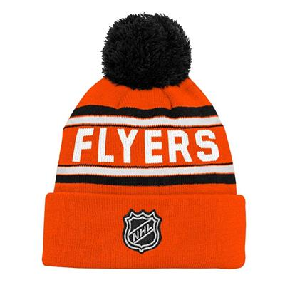 Back (Adidas Philadelphia Flyers Youth Pom Knit Hat)