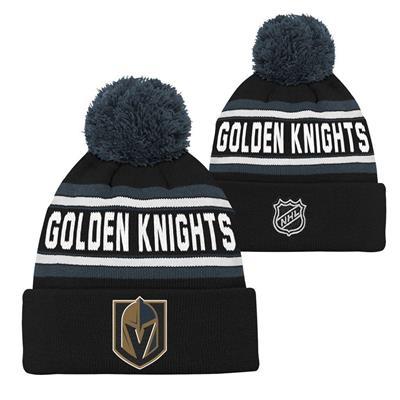 Vegas Golden Knights (Adidas Vegas Golden Knights Youth Pom Knit Hat)