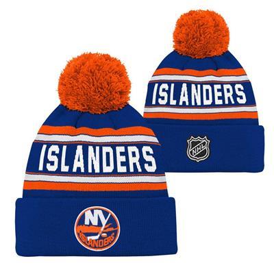 New York Islanders (Adidas New York Islanders Youth Pom Knit Hat) d0034c862f5