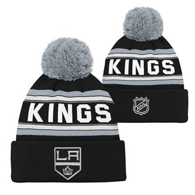 Los Angeles Kings (Adidas Los Angeles Kings Youth Pom Knit Hat)