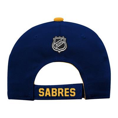 Back (Adidas Buffalo Sabres Basic Youth Hat)