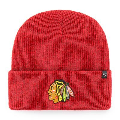 (47 Brand Brain Freeze Cuff Knit Hat - Chicago Blackhawks)