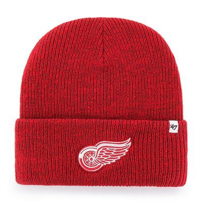 (47 Brand Brain Freeze Cuff Knit Hat - Detroit Red Wings)